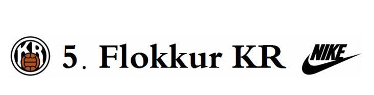 5. flokkur KR - Hausmynd